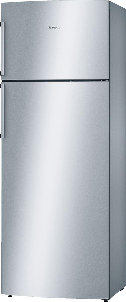 Frigider cu 2 uşi Bosch KDN46VI30, No Frost, 374 L, Sertare VitaFresh, Suport sticle, Alarmă ușă, Uşi reversibile, Clasa A++, H 186 cm, Ușă inox anti amprente