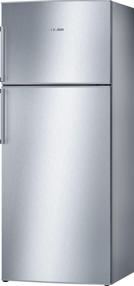 Frigider cu 2 uşi Bosch KDN53VL20, No Frost, 420 L, Sistem Easy twist, Sertare VitaFresh, Uşi reversibile, Clasa A+, H 171 cm, Argintiu