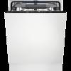 Masina de spalat vase incorporabila Electrolux KESC9200L, 15 seturi, AirDry, QuickSelect, Latime 59.6 cm, 8 programe, Usa slide, Motor inverter, Afisaj digital, Indicator luminos pe podea, Clasa A++