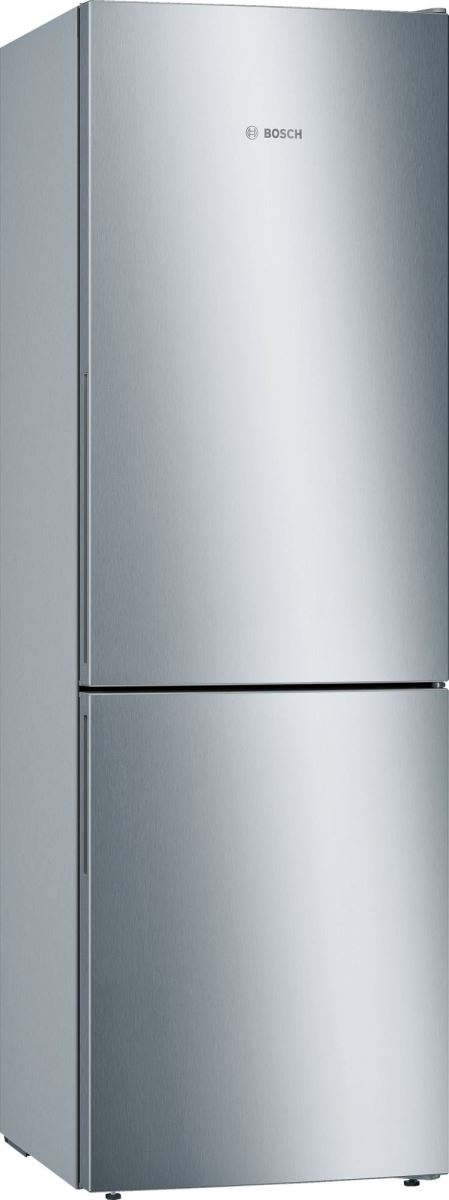 Combina frigorifica Bosch KGE36VL4A, Low Frost, 302 l, A+++, VitaFresh, ChillerBox, H 186 cm, Inox Look