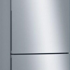 Combina frigorifica Bosch KGE49VI4A, Low Frost, 413 l, A+++, VitaFresh, ChillerBox, L 70 cm, H 201 cm, Inox EasyClean