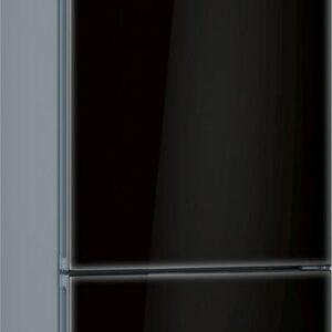 Combina frigorifica Bosch KGF39SB45, No Frost, 343 l, Clasa A+++, H 203 cm, Sticla neagra