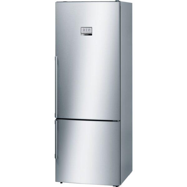 Combina frigorifica Bosch KGF56PI40, No Frost, VitaFresh, Premium TouchControl, 480 l, A+++, H 193 cm, Inox