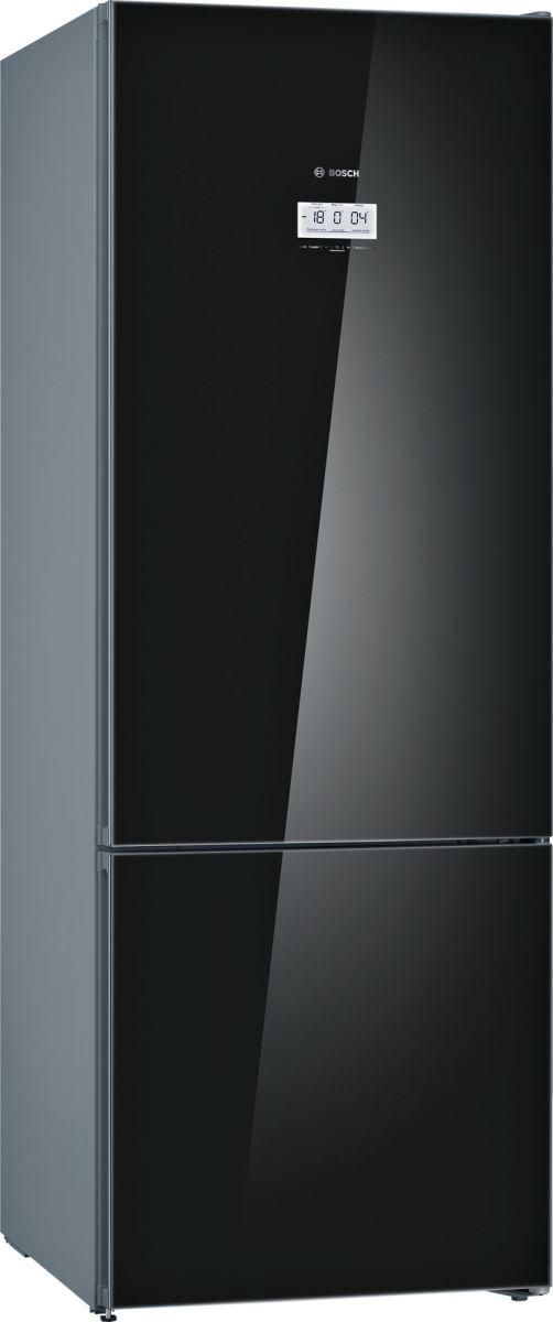 Combina frigorifica Bosch KGF56SB40, No Frost, 480 l, A+++, H 193 cm, Negru