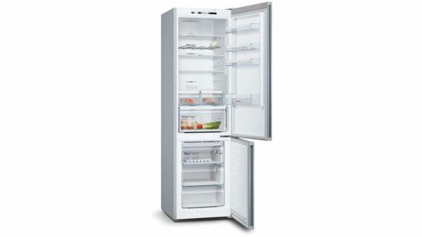 Combina frigorifica Bosch KGN39IJ3A, Vario Style NoFrost, 366 l, A++,VitaFresh, H 203 cm, Inox