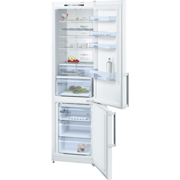 Combina frigorifica Bosch KGN39VW35, No Frost, 366 l, A++, VitaFresh, H 203 cm, Alb