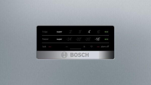 Combina frigorifica Bosch KGN56XL30, No Frost, 505 l, A++, H 193 cm, Inox Look