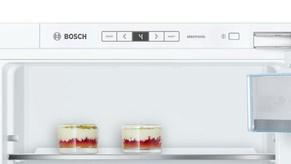 Frigider incorporabil Bosch KIR41AF30, 211 l, SmartCool, Clasa A++, H 122.5 cm, Alb