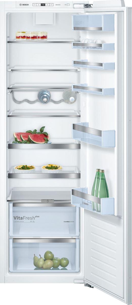 Frigider incorporabil Bosch KIR81AF30, 319 L, FreshSense, Clasa A++, SuperCooling, H 177 cm, L 56 cm, Alb