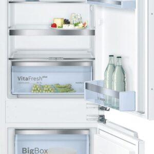 Combina frigorifica incorporabila Bosch KIS87AF30, Low Frost, 272 l, A++, H 177 cm