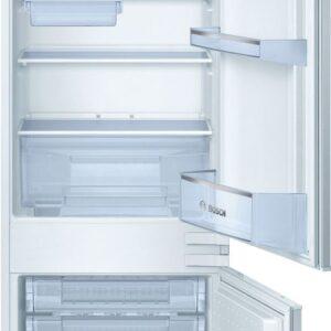 Combina frigorifica incorporabila Bosch KIV38X20, 279 l, Clasa A+, L 54 cm, H 177 cm, Alb