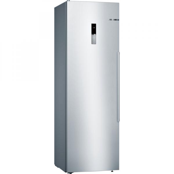 Frigider cu o usa Bosch KSV36BI3P, 346 l, A++, VitaFresh plus, 7 rafturi, Display extern, H 186 cm, Inox antiamprenta