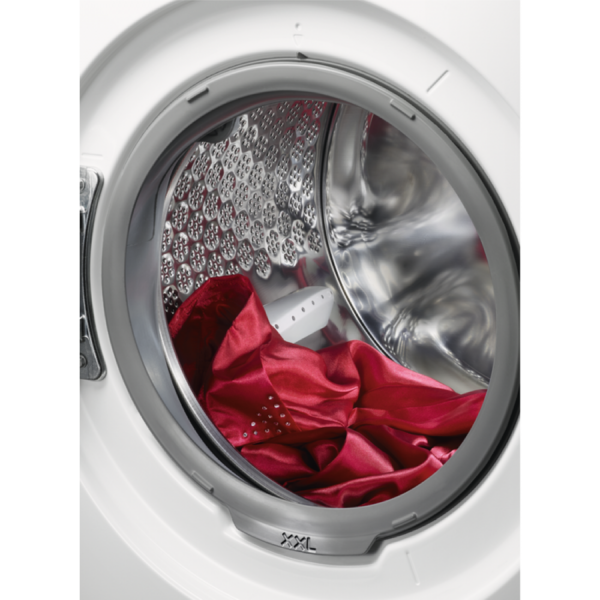 Masina de spalat rufe AEG L7FEC48S, 8 kg, 1400 rpm, A+++ -30%, Program Abur, Blocare copii, Display, Alb