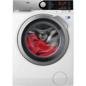 Masina de spalat rufe AEG L7FEE68S, 8 kg, 1600 rpm, A+++ -30%, Program Abur, Blocare copii, Display, Alb