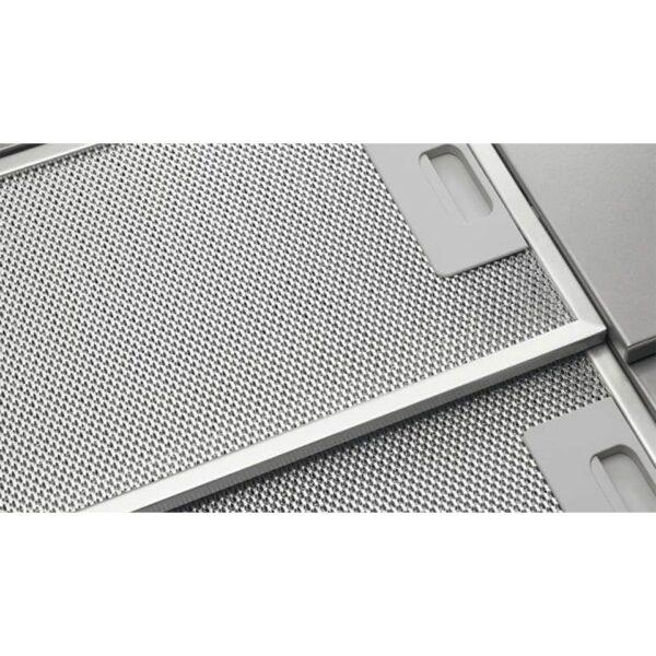 Hota Electrolux LFP316S, Telescopica incorporabila, 60 cm, 360 m³/h, 1 motor, 3 viteze, argintiu