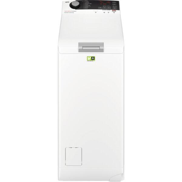Masina de spalat rufe cu incarcare verticala AEG LTX7E273E, 7 kg, 1200 rpm, A+++(-20%), ProSteam®, ProSense +, LCD, Inverter, Alb
