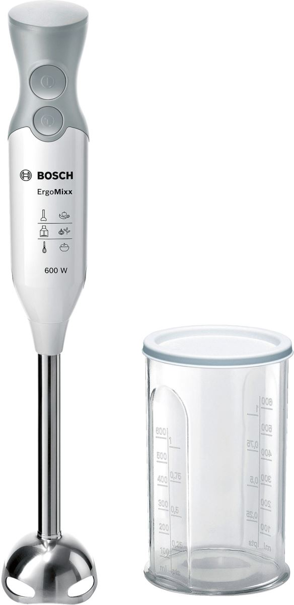 Blender Bosch MSM66110, 600 W, Alb/Gri