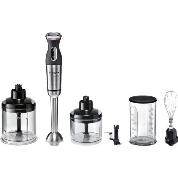 Blender Bosch MSM87180, 750 W, 12 Viteze, Negru/Inox