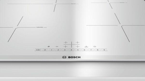 Plita incorporabila Bosch PIF672FB1E, Inductie, 4 zone, 60 cm, Alb