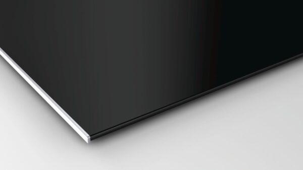 Plită incorporabilă Bosch Serie 8 PXY875KW1E, 80 cm, Vitroceramica, 4 zone inductie, 2 zone de gatit FlexInduction Plus, Afisaj TFT TouchDisplay Plus, PerfectFry, Neagra