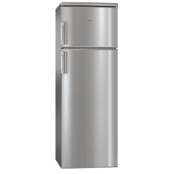 Combina frigorifica AEG RDB72721AX, 259 l , Clasa A++, H 159 cm, Inox antiamprenta