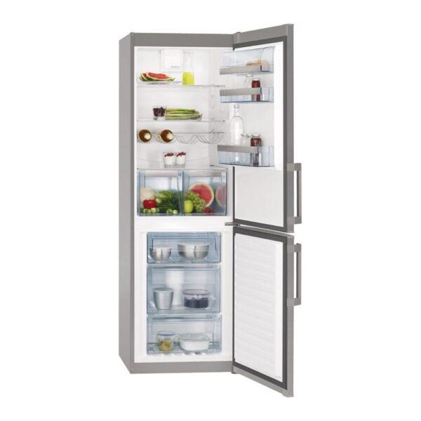 Combina frigorifica AEG S53620CTX2, 318 l, A++, Touch control, H 185 cm, Inox antiamprenta