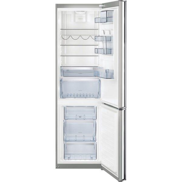 Combina frigorifica AEG S83920CMXF, 350 l, A++, Touch control, H 200 cm, Inox antiamprenta