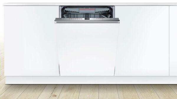 Masina de spalat vase complet incorporabila Bosch Serie 6 SBE67MX03E, 14 seturi, 7 programe, PiezoTouchControl, Sistem AquaStop®, Clasa A+++, 60 cm