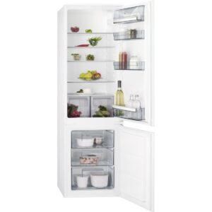 Combina frigorifica incorporabila AEG SCB51811LS, 268 l, Clasa A +, H 178 cm