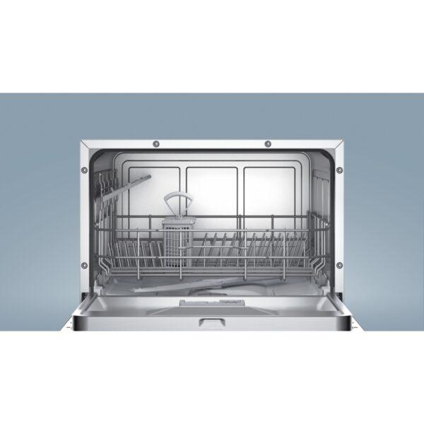 Masina de spalat vase Bosch SKS51E28EU, Independenta, 6 seturi, 5 programe, A+, Argintiu
