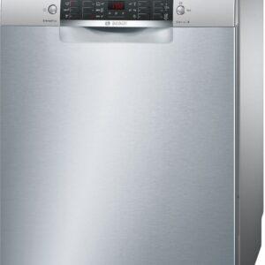 Masina de spalat vase Bosch SMS46LI04E, Independenta, 13 seturi, 6 programe, A++, 60 cm, Inox antiamprenta