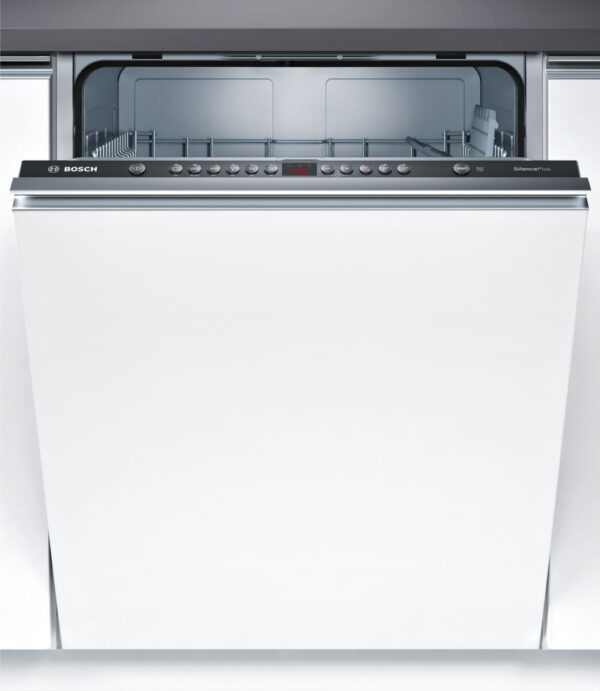 Masina de spalat vase Bosch SMV46AX02E, Total incorporabila, Serie 4, 60 cm, 12 seturi, clasa A+, 6 programe, EcoSilence Drive