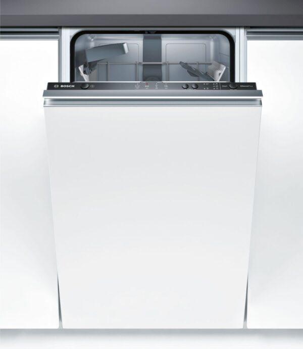 Masina de spalat vase Bosch Serie 2 SPV24CX00E Silence Plus, Total incorporabila, 45 cm, 9 seturi, 4 programe, A+, Infolight, Panel comanda inox