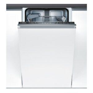 Masina de spalat vase Bosch Serie 4 SPV45CX01E Silence Plus, Total incorporabila, 45 cm, 9 seturi, 5 programe, A+, VarioSpeed Plus, Infolight, Panel comanda inox