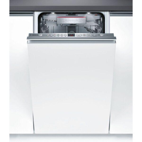 Masina de spalat vase Bosch Serie 6 SPV66TX00E Silence Plus, Total incorporabila, 45 cm, 10 seturi, 6 programe, A++, VarioSpeed Plus, Timelight, Panel comanda inox