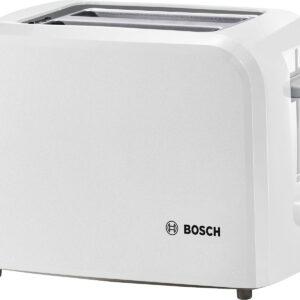 Prajitor de paine Bosch CompactClass TAT3A011, 980 W, Alb