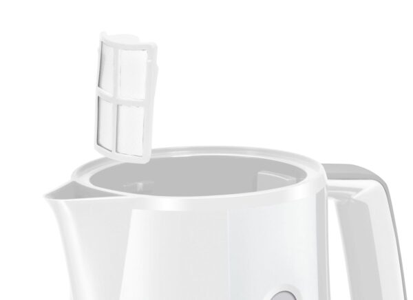 Fierbator de apa Bosch CompactClass TWK3A011, 2400 W, 1.7 l, Alb