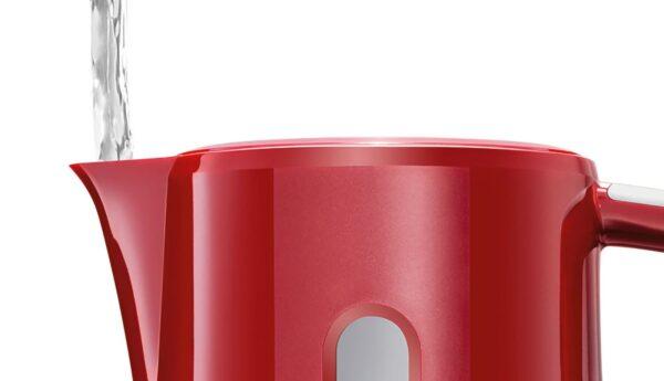 Fierbator de apa Bosch CompactClass TWK3A014, 2400 W, 1.7 l, Rosu