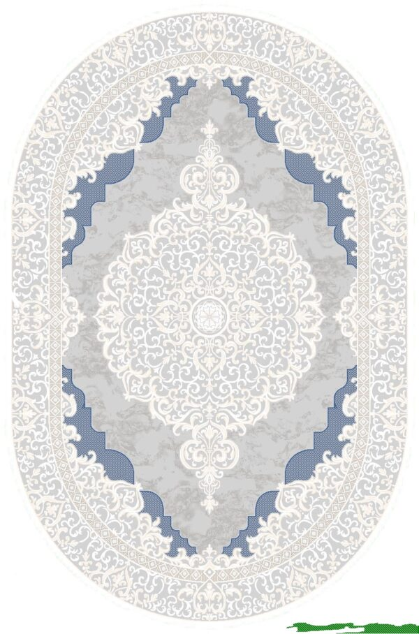 VIOLET-MODEL 2614B-CULOARE BLUE-OVAL 160x230