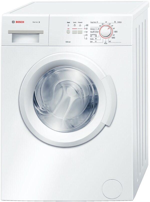 Masina de spalat rufe Bosch Classixx 2 WAB20061BY, 5.5kg, 1000rpm, A+, Alb