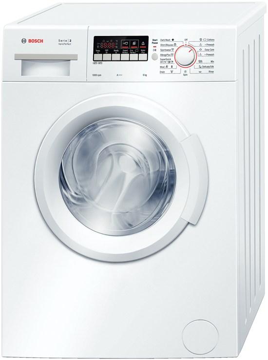 Masina de spalat rufe Bosch WAB20262BY, 6 kg, 1000 RPM, Clasa A+++, Alb