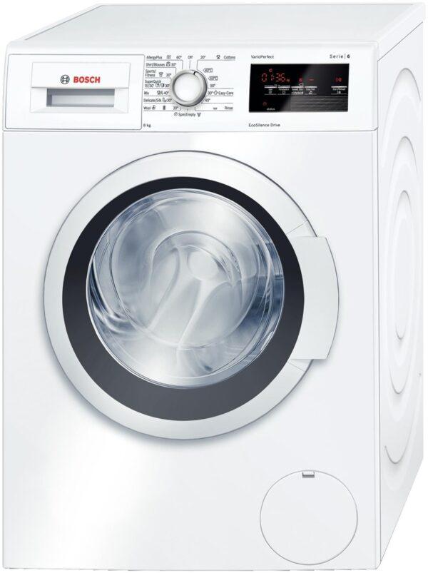 Masina de spalat rufe Bosch Avantixx WAT20360BY, 8 Kg, 1000 rot/min, Clasa A+++, Alb