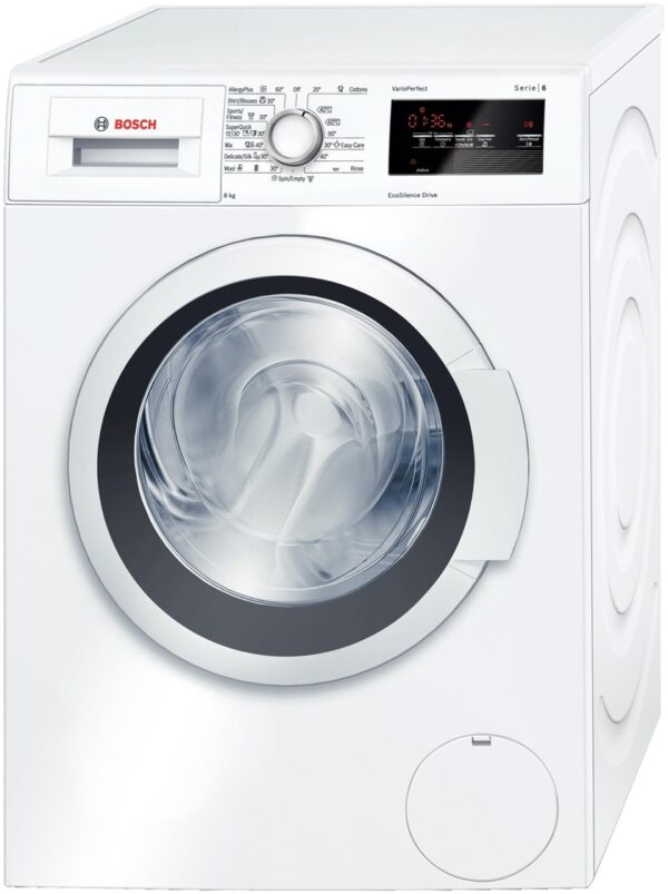 Masina de spalat rufe Bosch Avantixx WAT24360BY , 8 Kg, 1200 rot/min, Clasa A+++, Alb