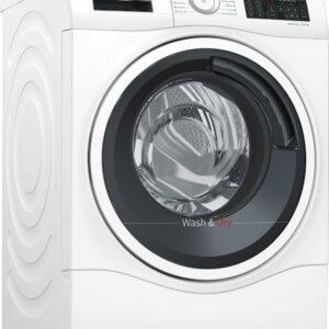 Masina de spalat rufe cu uscator Bosch WDU28540EU, 10 kg / 6 kg, 1400 rpm, Clasa A, EcoSilence Drive, Alb