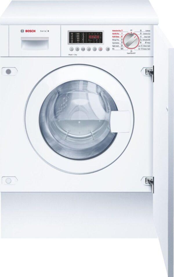 Masina de spalat rufe cu uscator incorporabila Bosch WKD28541EU, 7/4 kg, 1400 RPM, Clasa B