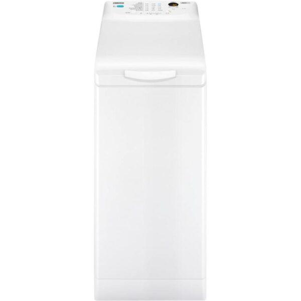 Masina de spalat rufe verticala Zanussi ZWQ61225CI, 6 kg, 1200 rpm, display LCD, Fuzzy Logic, clasa A++, Alb