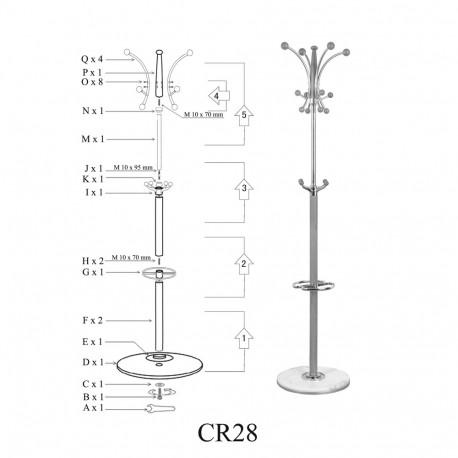 Cuier pom SL CR28 fag