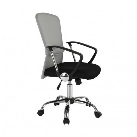 Fotoliu birou GL AEX gri - negru