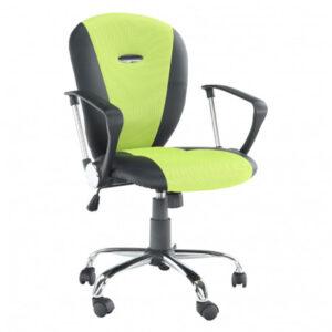 Fotoliu de birou, galben cu verde/negru, GL TABAREZ 1513
