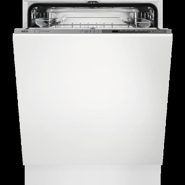 Masina de spalat vase AEG FSE53630Z, Total incorporabila, 60 cm, 13 seturi, 5 programe, A+++, inverter